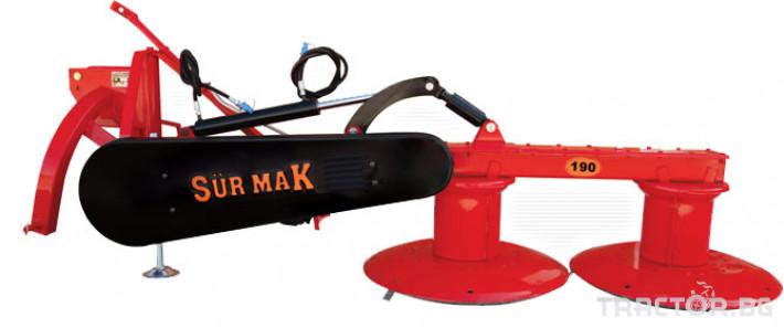 Косачки Surmak 1,90 с хидравлична бутилка 1 - Трактор БГ