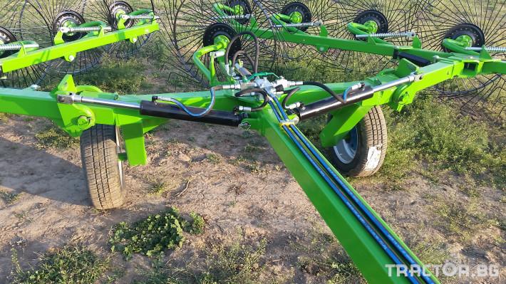 Сенообръщачки Surmak 12 + 1 слънца 3 - Трактор БГ