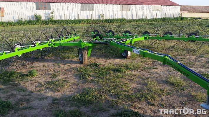 Сенообръщачки Surmak 12 + 1 слънца 4 - Трактор БГ