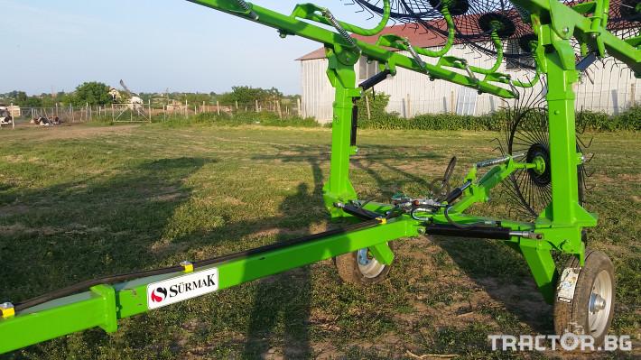 Сенообръщачки Surmak 12 + 1 слънца 5 - Трактор БГ