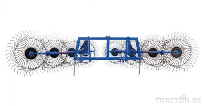 Сенообръщачки Surmak 8 слънца 0 - Трактор БГ