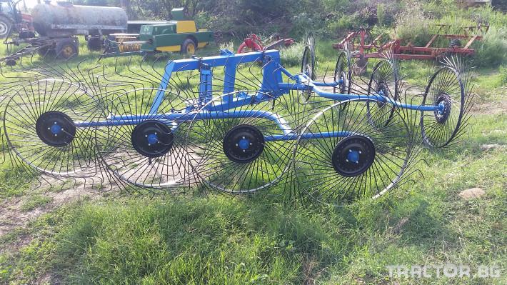 Сенообръщачки Surmak 8 слънца 1 - Трактор БГ