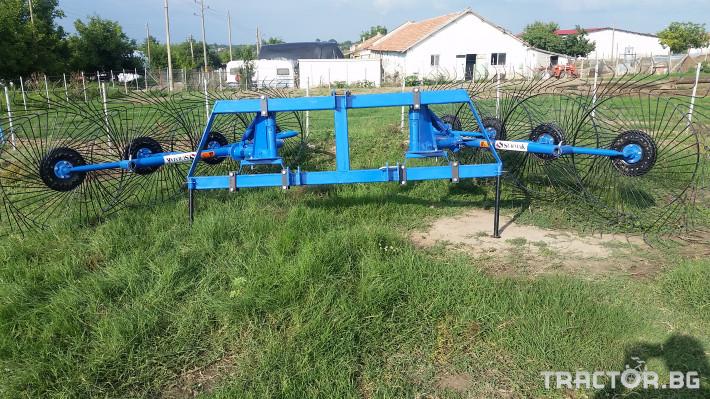 Сенообръщачки Surmak 8 слънца 2 - Трактор БГ
