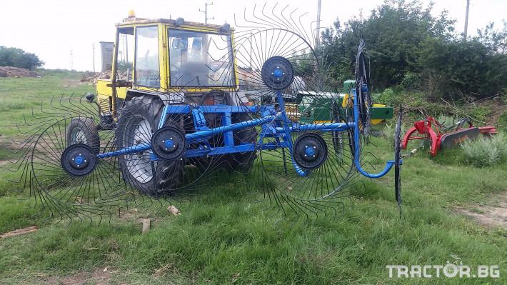 Сенообръщачки Surmak 8 слънца 4 - Трактор БГ