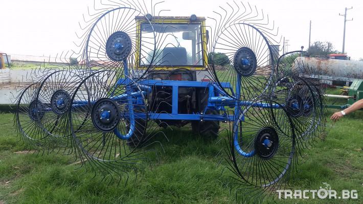 Сенообръщачки Surmak 8 слънца 5 - Трактор БГ