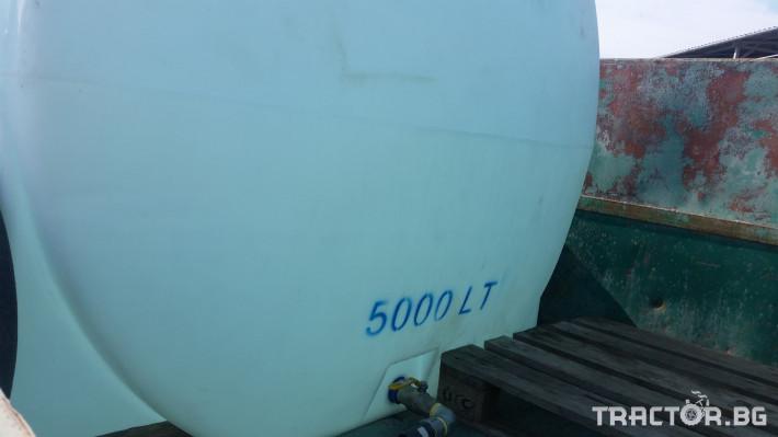 Ремаркета и цистерни Пластмасова цистерна 5000 литра 1 - Трактор БГ