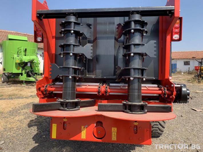 Ремаркета и цистерни 10 тонно тороразхвърлящо ремарке 1