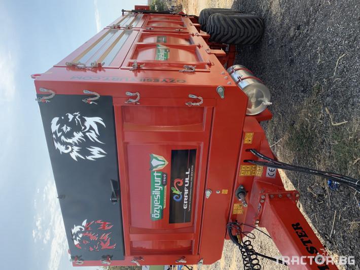 Ремаркета и цистерни 10 тонно тороразхвърлящо ремарке 3