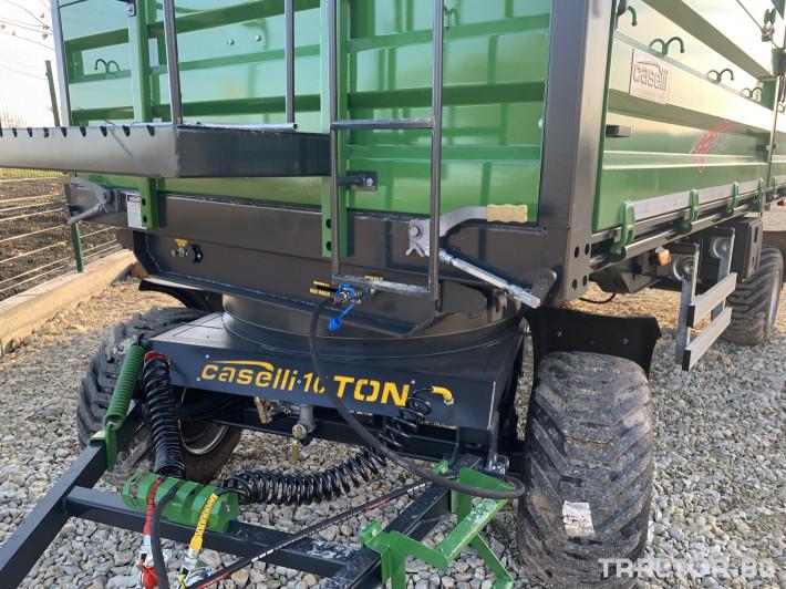 Ремаркета и цистерни Caselli 10 тонно 0 - Трактор БГ