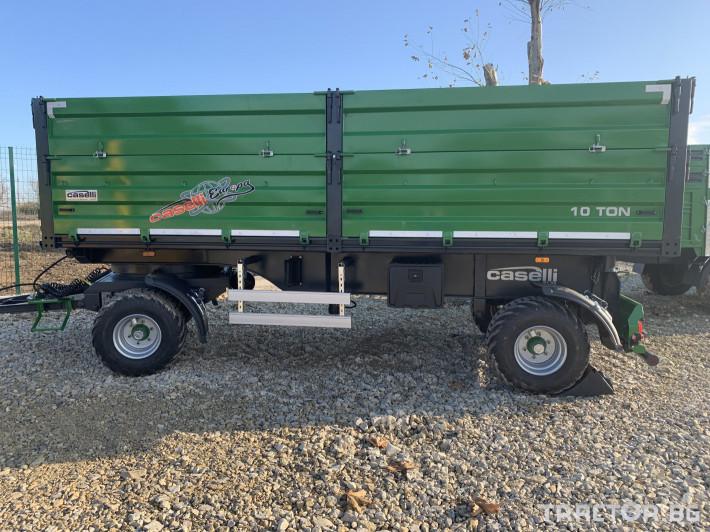 Ремаркета и цистерни Caselli 10 тонно 1 - Трактор БГ