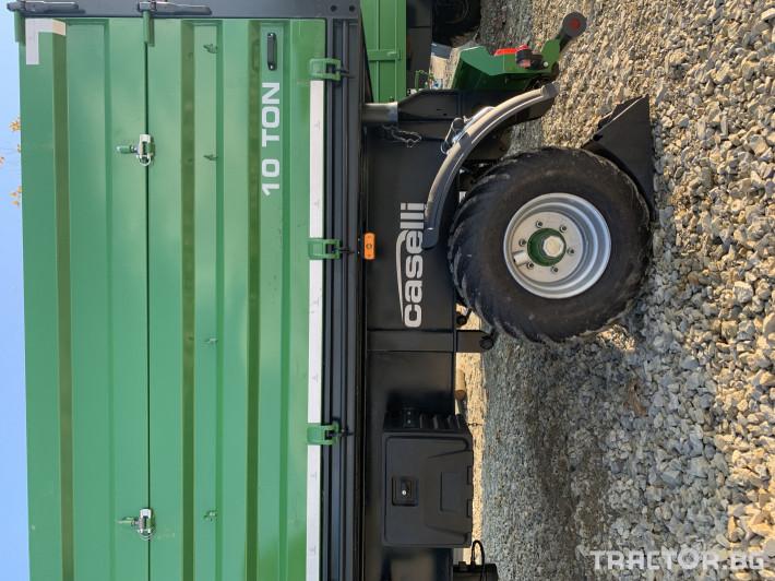 Ремаркета и цистерни Caselli 10 тонно 2 - Трактор БГ