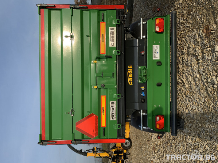 Ремаркета и цистерни Caselli 10 тонно 5 - Трактор БГ