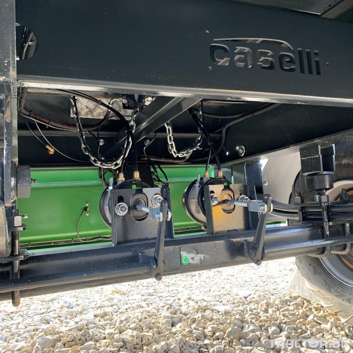Ремаркета и цистерни Caselli 10 тонно 6 - Трактор БГ