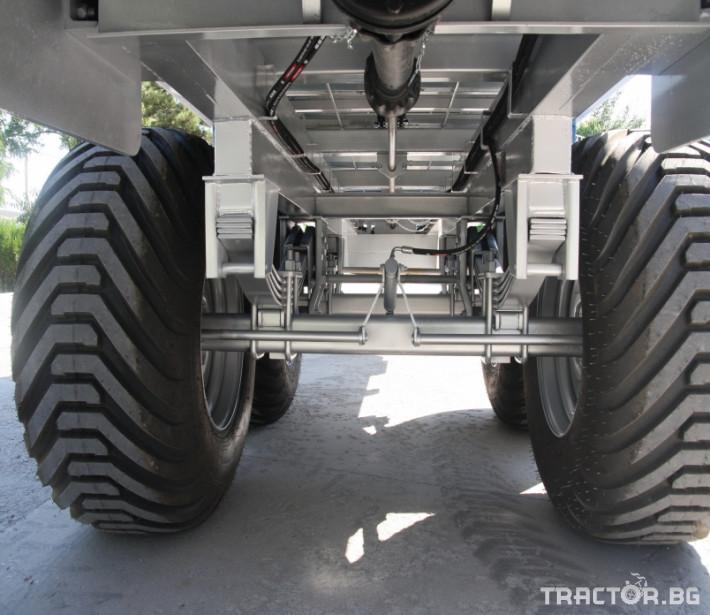 Машини за ферми Тороразхвърлящо ремарке за оборска тор 4 - Трактор БГ