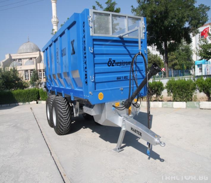 Машини за ферми Тороразхвърлящо ремарке за оборска тор 7 - Трактор БГ