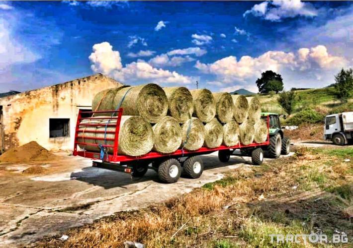 Ремаркета и цистерни Турски Ремарке за Бали 8,5 метра на 2,4 метра 1 - Трактор БГ