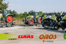 Сервизно обслужване и ремонт на трактори и комбайни CLAAS