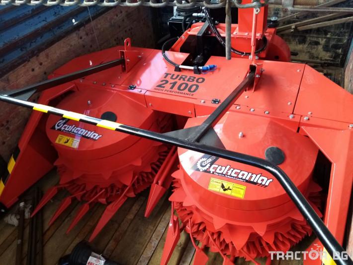 Машини за ферми Внос Силажирка 3 редова за преден и заден вом налична 0 - Трактор БГ