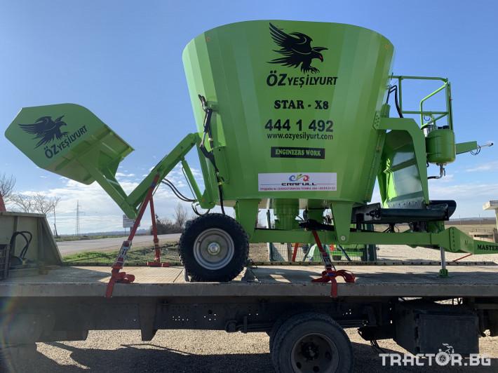 Машини за ферми Фуражораздаващо ремарке 8 кубически метра 0 - Трактор БГ